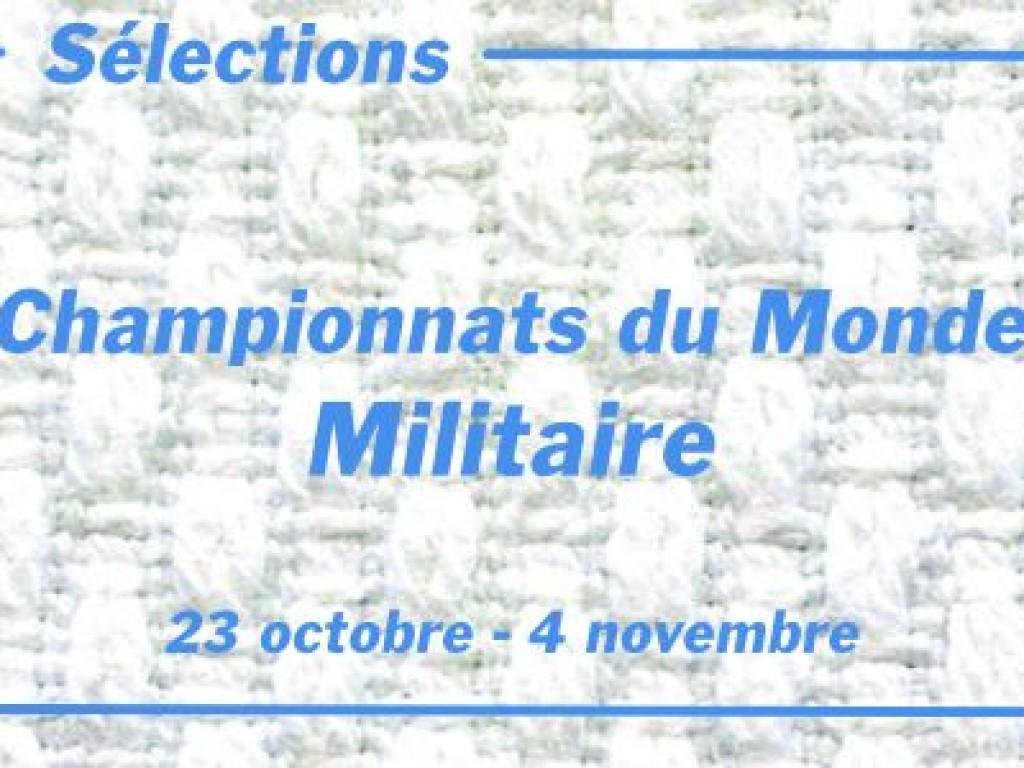 Image de l'actu 'Sélection Championnats du Monde Militaire 2021'