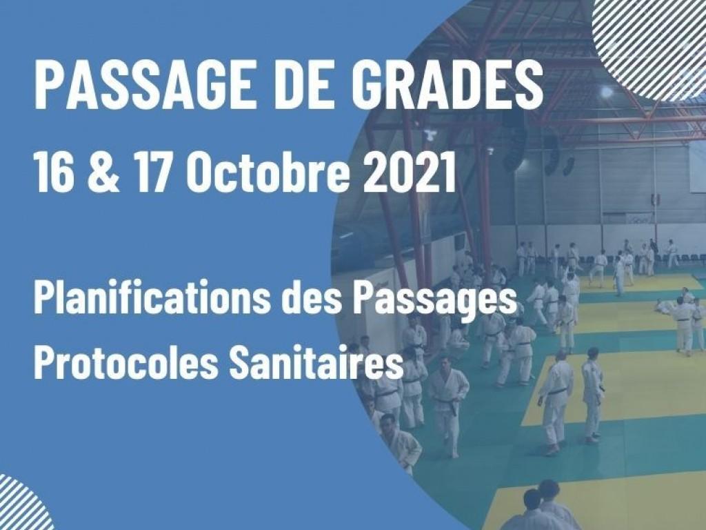 Image de l'actu 'Passage de Grades - Blocs et protocoles sanitaires'
