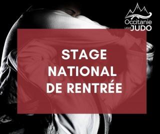 Image de l'actu 'Stage National de Rentrée 2021'
