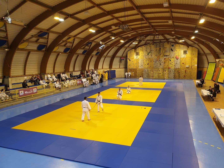 Podium Open Sud Kata 34 et coupe Occitanie de Kata