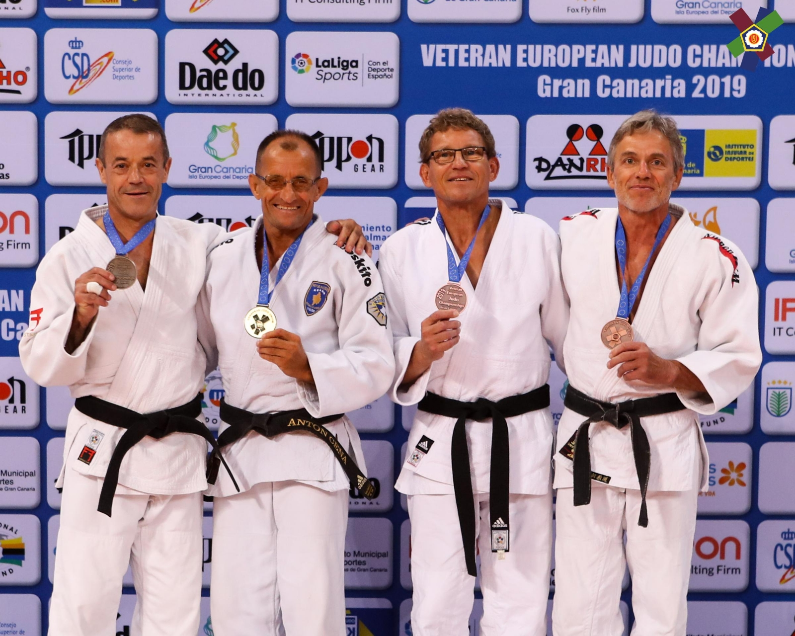Championnat d'Europe Vétérans 2019