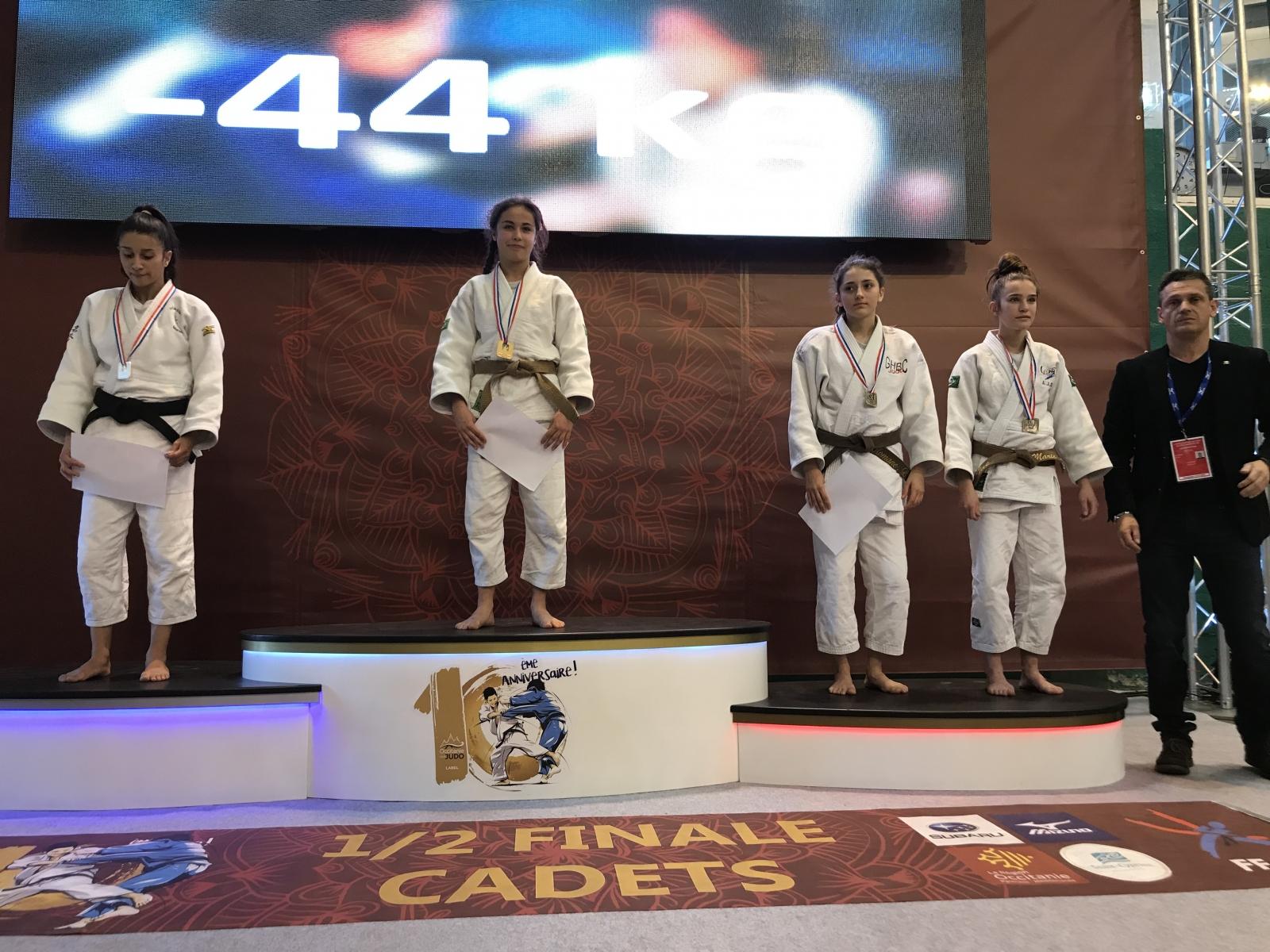 Demi-Finale Championnat de France Cadet.te.s - Saint Cyprien Mars 2019