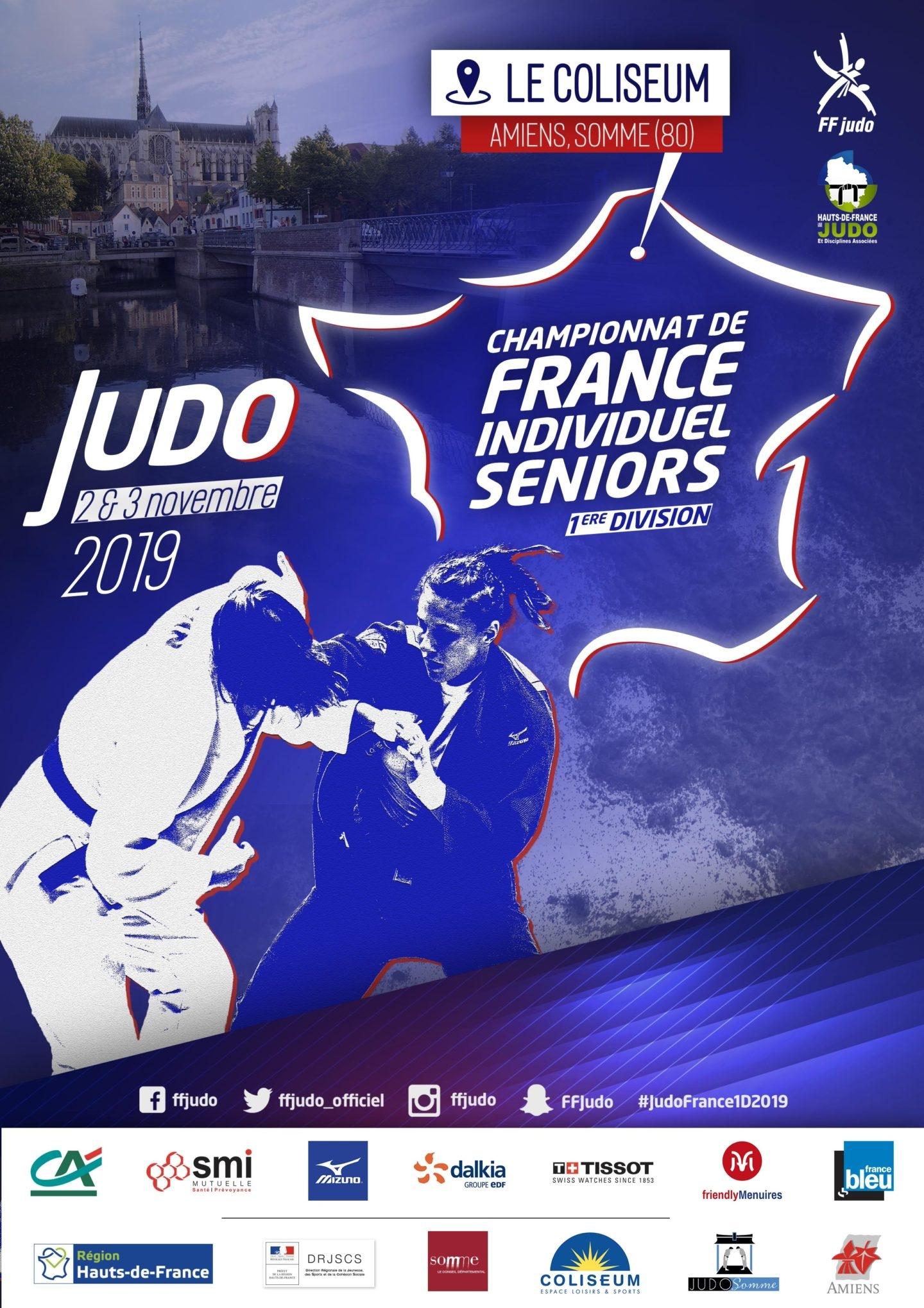 France Séniors 1ère Division - Amiens 2019