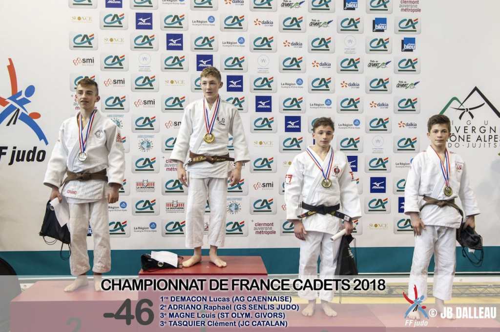 Championnat de France Cadet.te.s 2018