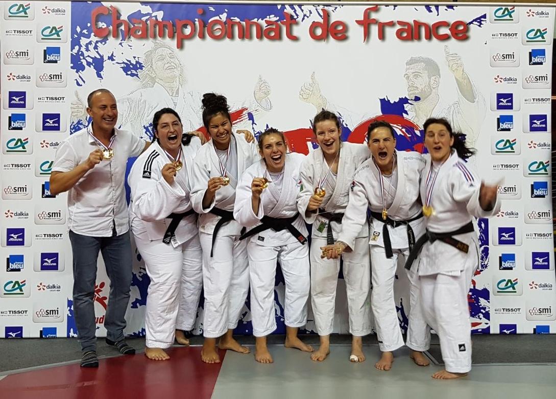 Championnat de France par Équipe de club 2ème division 2017