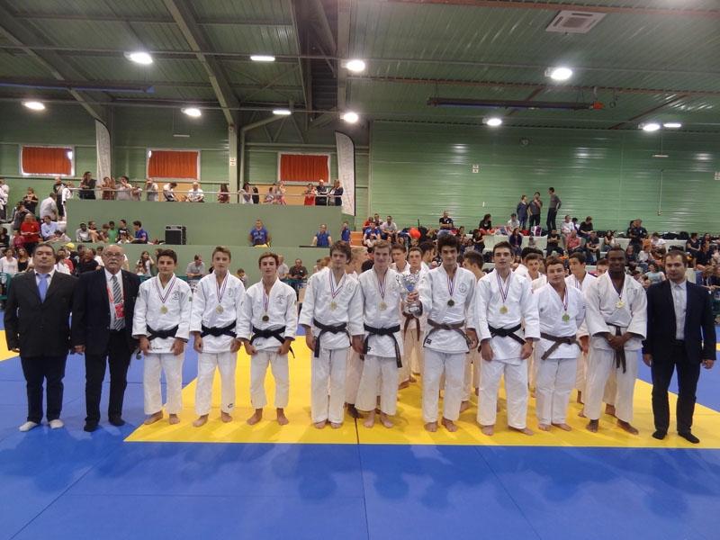Championnat par équipe club cadets 2016